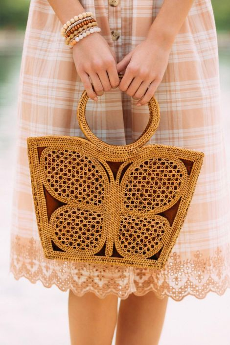 Kupu Butterfly Tote at francesca's