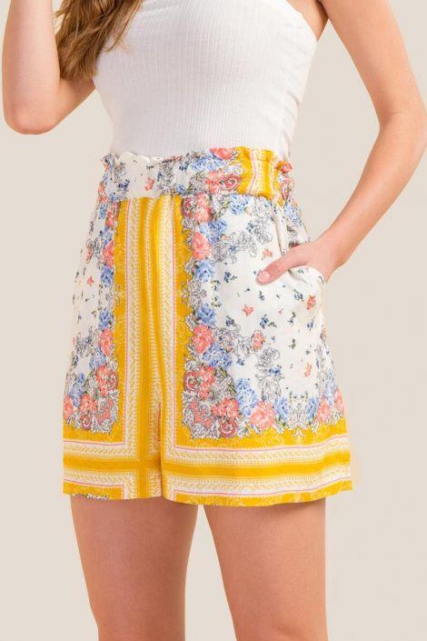 Josephine Floral Shorts at francesca's