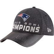 New Era Men's Super Bowl Li Champions New England Patriots Locker Room 9forty Adjustable Hat