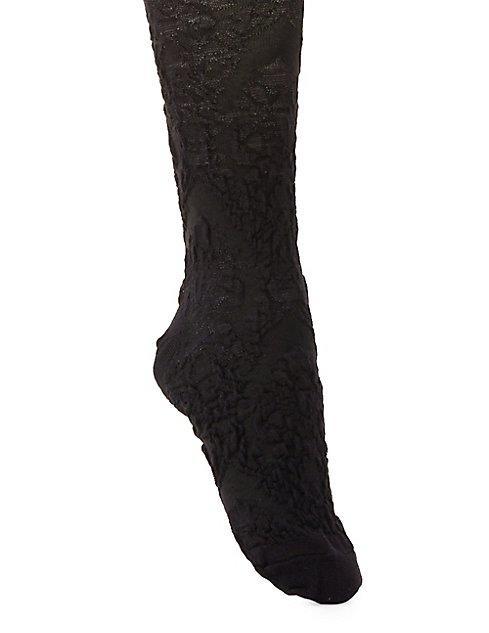 Textured Knee-high Socks