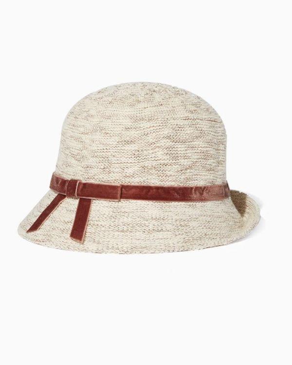 Lurex Cloche Hat