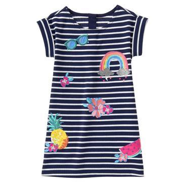 Tropical Patches Dress