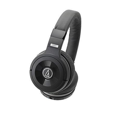 Audio-Technica WS99BT Solid Bass Wireless Over-Ear Headphones with Built-in Mic & Control