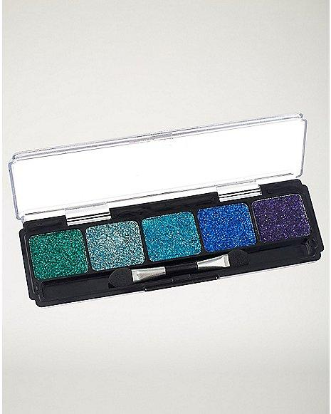 Glitter Blue Cream Makeup Kit