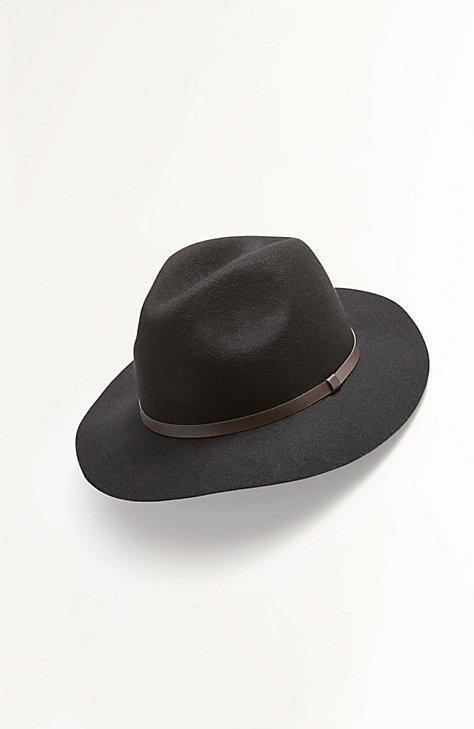 Wide-brim Felt Hat