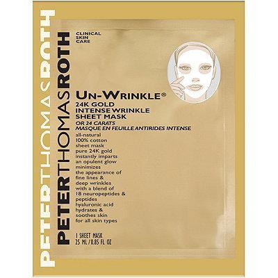 Travel Size Un-wrinkle 24k Gold Intense Wrinkle Sheet Mask