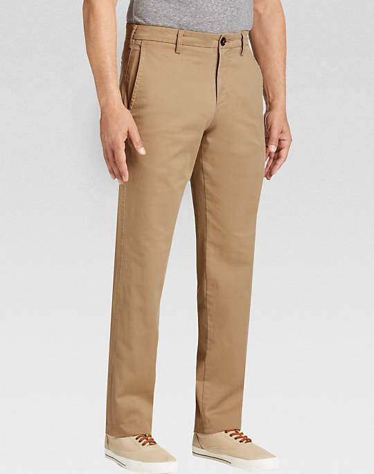 Joseph Abboud Tan Modern Fit Chinos