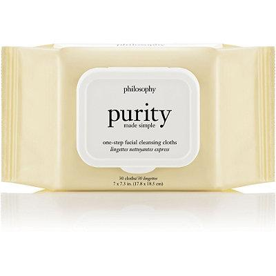 Purity Made Simple One-step Facial Cleansing Cloths