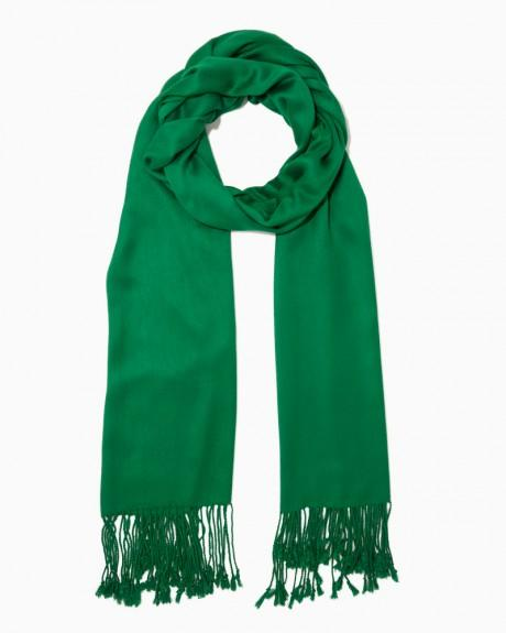 Charlie Solid Pashmina-style Scarf