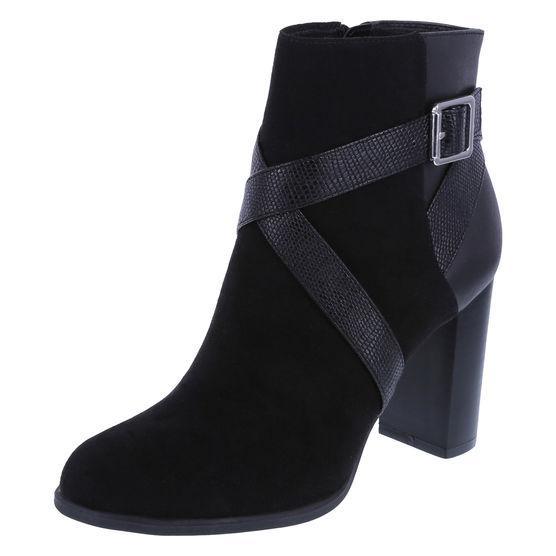 Womens Tessa Block Heel Bootie