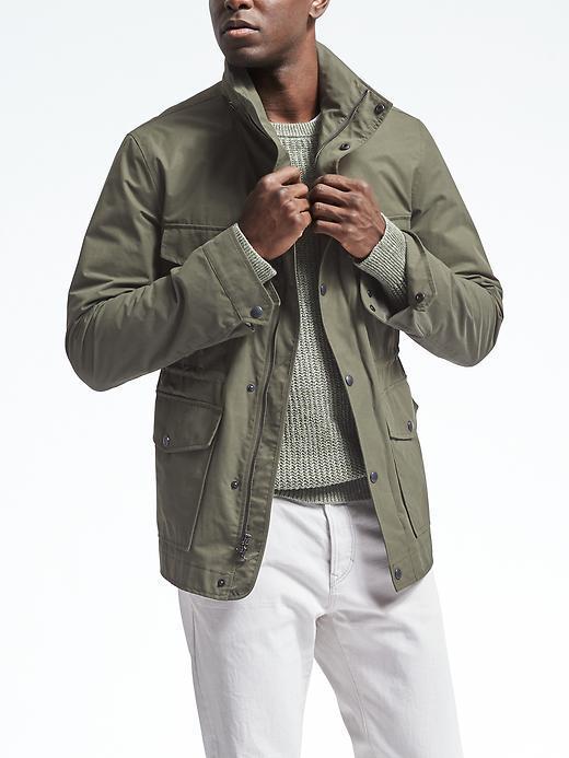 Four-Pocket Military Jacket