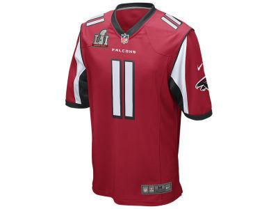 Atlanta Falcons Julio Jones Nike NFL Men's Super Bowl LI Patch Game Jersey
