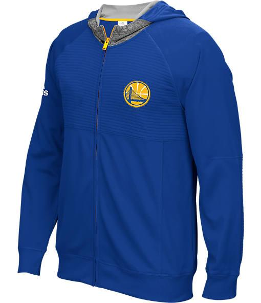 Men's adidas Golden State Warriors NBA Pre-Game Jacket