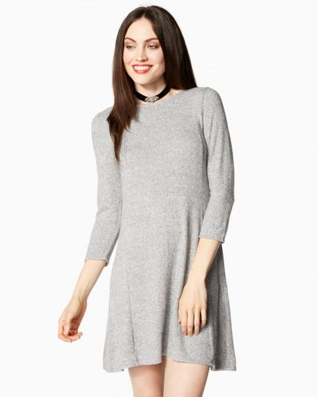 Cozy Fit And Flare Dress