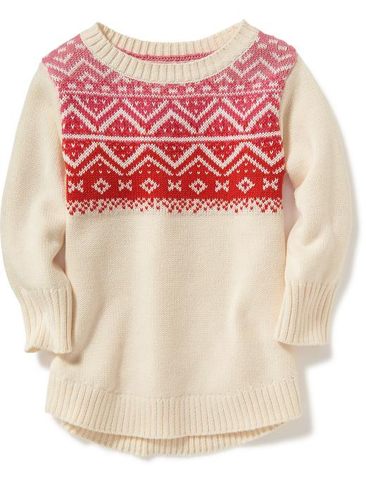 Fair Isle Scoop-Neck Pullover for Toddler