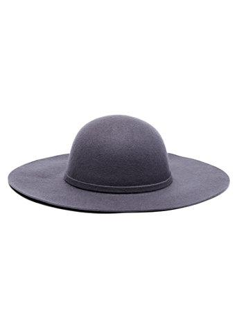 Ny&c: Wide-brim Wool Hat
