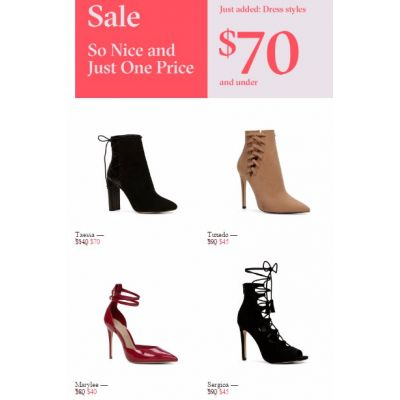 Dress Styles $70 & Under