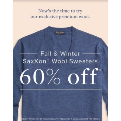 Fall & Winter Saxxon Wool Sweaters