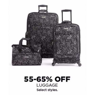 55–65% Off Luggage