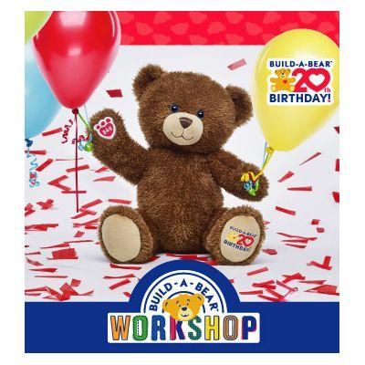 Build-A-Bear Workshop Celebrates its 20th Birthday!