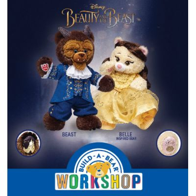 Disney Beauty and the Beast inspired-bears come to Build-A-Bear Workshop®