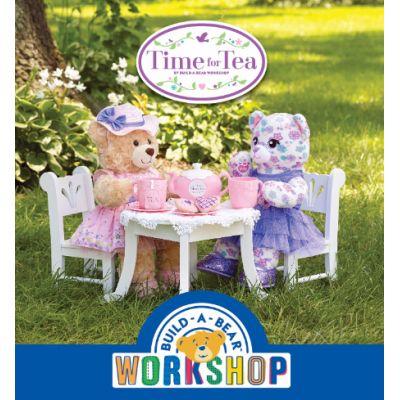 Build-A-Bear Workshop® brings the joy of tea parties back for  fair-weather fun!