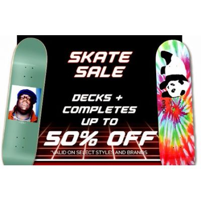 Skate Sale up to 50% Off