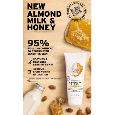 Discover Our New Almond Milk & Honey Body Care