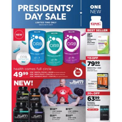 President's Day Sale up to 25% Off