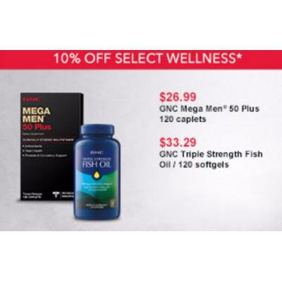 10% Off Select Wellness