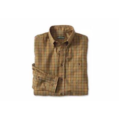 Luxury Cotton & Merino Long-Sleeved Shirt