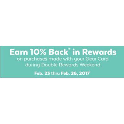 Earn 10% Back in Rewards