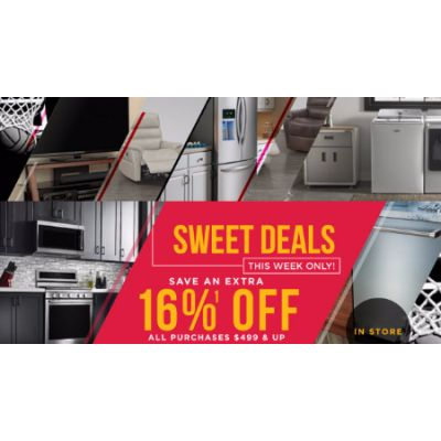 Extra 16% Off Sweet Sale