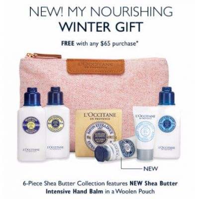 My Nourishing Winter Gift Free With Any $65 Purchase