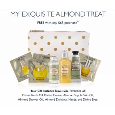 My Exquisite Almond Treat Free With Any $65 Purchase