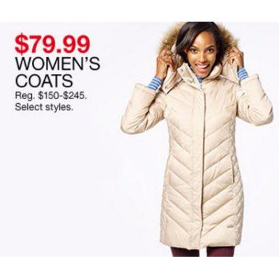 $79.99 Women's Coats