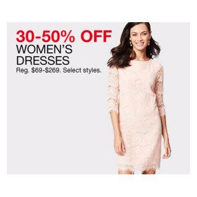 30-50% Off Women's Dresses
