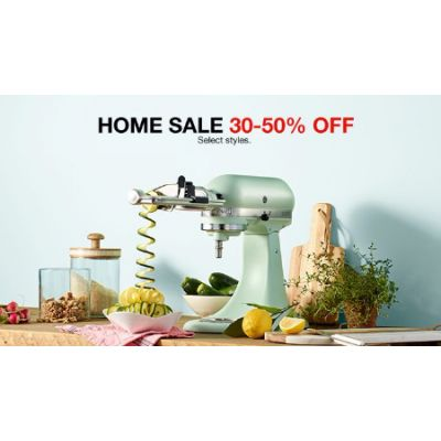 Home Sale 30-50% Off