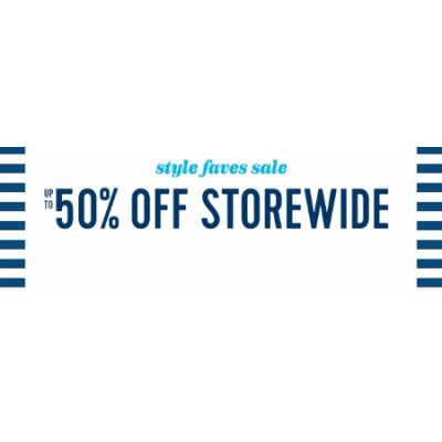 Up to 50% Off Style Faves Sale