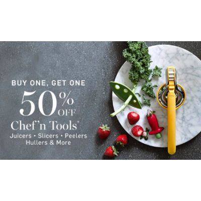 BOGO 50% Off Chef'n Tools