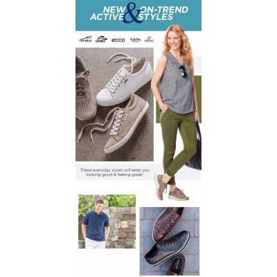New Active & On-Trend Styles