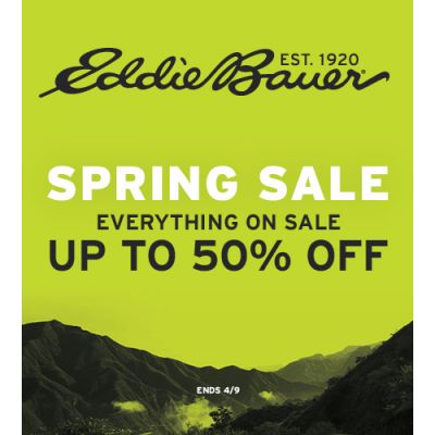 Spring Sale Everything On Sale Up To 50% Off!