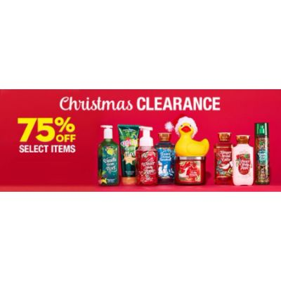 75% Off Select Items
