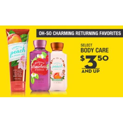 Select Body Care $3.50 & Up