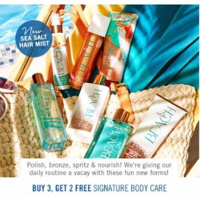 Buy 3, Get 2 Free Signature Body Care