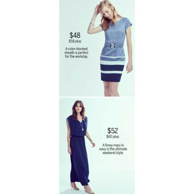 Your Favorite Blue Dresses in Our Coolest, Most Flattering Shade