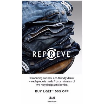 B1G1 50% Off Jeans