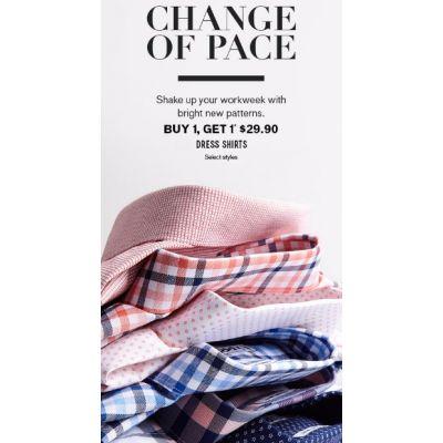 Dress Shirts B1G1 $29.90