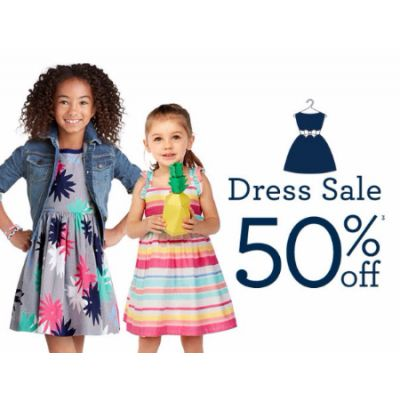 50% Off Dress Sale