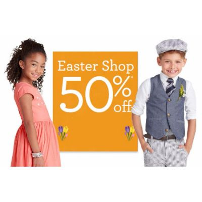 50% Off Easter Shop